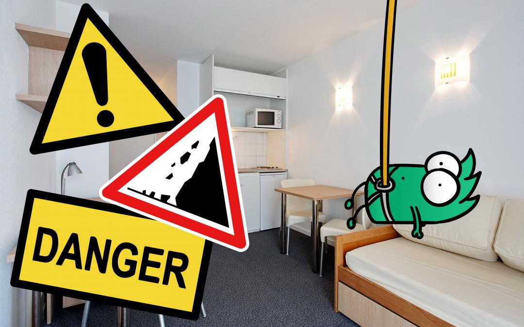 Les 7 choses à ne pas faire quand on grimpe chez soi