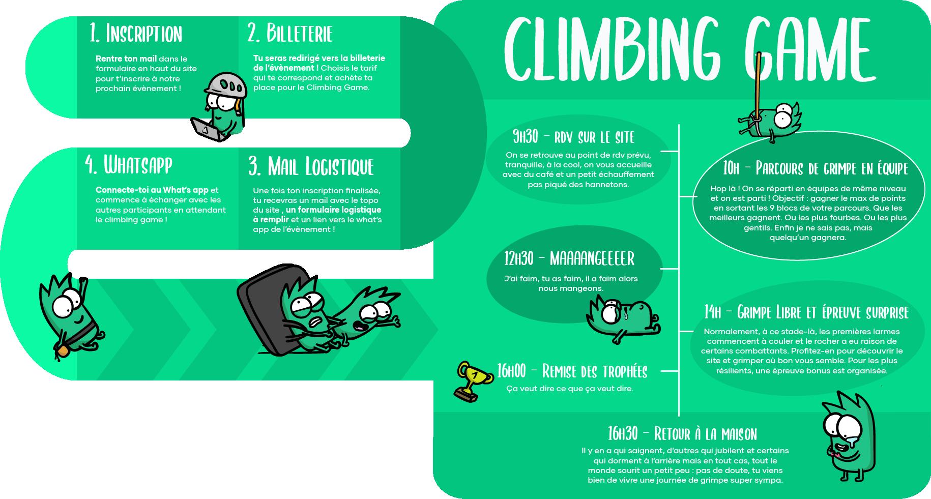 Climbing Game Kayoo escalade outdoor bloc